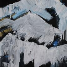 """""""Glacier 02"""" acrylic on canvas [SOLD]"""