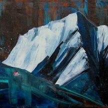 """""""Glacier 01"""" acrylic on canvas [NFS]"""